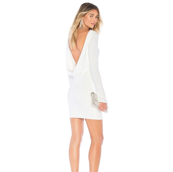 katie may Dresses & Skirts - REVOLVE Katie May | Glisten dress in Ivory NWT XS